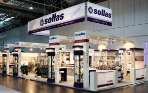Machine-stand van Sollas